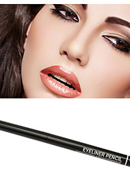 2Pcs High Quality New Waterproof Rotary Gel Cream Eye Liner Black Brown Eyeliner Pen Makeup Cosmetic Tool