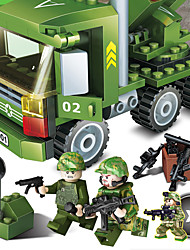 Building Blocks For Gift  Building Blocks Model & Building Toy Tank ABS 5 to 7 Years 8 to 13 Years 14 Years & Up Green Toys