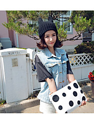 Unisex Knitwear Beanie Slouchy Floppy HatVintage Cute Party Work Casual Fall Winter Korean Version Of The Cat Ears Cap