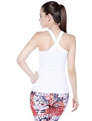 K-Bird®®Yoga Tops Transpirable Eslático Ropa deportiva Pilates Mujer