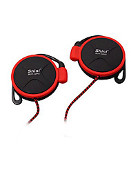 Shini Q940 Headphones 3.5mm Headset EarHook Earphone For Mp3 Player Computer Mobile Telephone Earphone