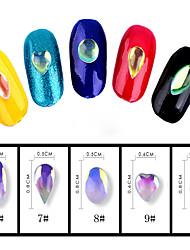 20 Nail Art Decoration Rhinestone Pearls Makeup Cosmetic Nail Art Design