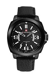 Men's Fashion NAVIFORCE 9062 Multi-Functional Belt Waterproof Watch