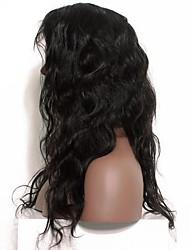 Perucas de onda corporal laço frente cabelo humano perucas mongol remy cabelo natural cabelo com cabelo de bebê para mulheres negras