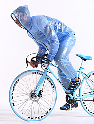 FJQXZ Unisex Manga Larga Bicicleta Impermeable/Poncho Impermeable Secado rápido Resistente al Viento Resistente a la lluvia Cremallera
