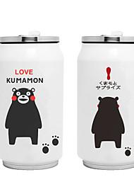 Novidades Desenho Artigos para Bebida, 300 ml retenção de calor Anti-Vazamento Aço Inoxidável chá Café Vacuum Cup