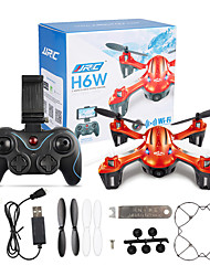 Drone JJRC 6CH 6 Axis 2.4G With 2.0MP HD Camera RC QuadcopterFPV LED Lighting One Key To Auto-Return Failsafe 360°Rolling Access