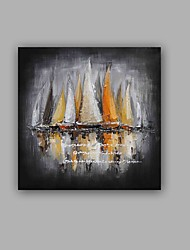 100%  Hand-Painted Abstract / Landscape Hang-Painted Oil PaintingModern / Classic One Panel Canvas Oil Painting For Home Decoration