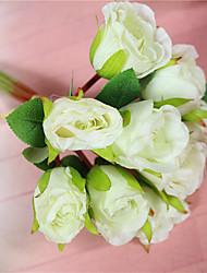 1 Ramo Outras Rosas Flores artificiais 20*20*28