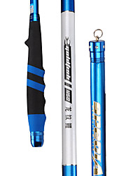 Fishing Rod Telespin Rod Carbon steel 360 M General Fishing Rod Blue
