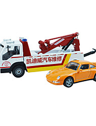 Ambulance Vehicle Toys 1:50 Metal ABS Plastic White