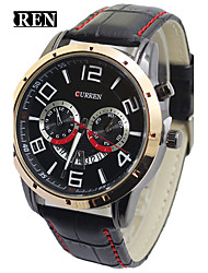 CURREN 8140 Classic Calendar High-Grade Contracted Quartz Watch