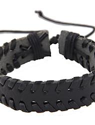 Bracelet Leather Bracelet Leather Punk Gift Jewelry Gift Black Brown1pc