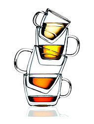 Drinkware, 475 Glass Coffee Water Glass