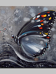 Hand-Painted Butterfly Animal Oil Paintings On Canvas Modern Abstract Wall Art Picture For Home Decoration Ready To Hang