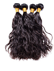 4pcs Brazilian Virgin Hair Narural Wave 8-30 Inches Human Hair Brazilian Dark Brown Human Hair