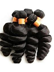 Бразильский Реми волос Пряди натуральных волос Реми Свободные волны Натуральные волосы Реми