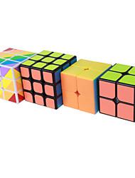Yongjun® Cube de Vitesse  2*2*2 3*3*3 Niveau professionnel Cubes magiques Autocollant lisse Anti-pop ressort réglable ABS