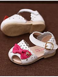 Mädchen-Sandalen-Outddor Lässig Sportlich-LederKomfort-Weiß
