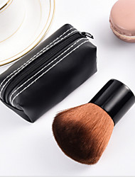 1Pcs New Fashion Special Hot Pro Mushroom Blush Loose Power Make Up Brush