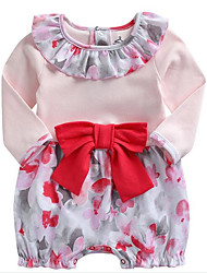 Baby Print One-Pieces,Rayon Summer Spring Long Sleeve