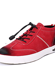 Men's Sneakers Spring Summer Fall Winter Comfort PU Outdoor Office & Career Casual Athletic Gore Black Blue Red