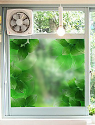 Floral Classical Window Sticker,PVC/Vinyl Material Window Decoration