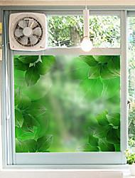 Floral Clásico Adhesivo para Ventana,PVC/Vinilo Material decoración de la ventana