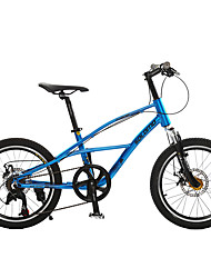 Kids' Bike Cycling 7 Speed 20 Inch Unisex kids SHIMANO Double Disc Brake Suspension Fork Aluminium Alloy Frame Ordinary/Standard Aluminium