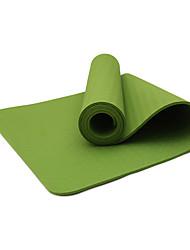 TPE Йога коврики Экологию Без запаха 8.0 мм Черный Other