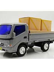 Landfahrzeuge Pull Back Fahrzeuge 1:25 Metall Plastik Grau