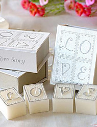 1 Box 4pcs Wedding Candle Wedding Gifts Guests Souvenirs Wedding Gifts Romantic Creative Candle For Wedding Party Valentine Day Gift