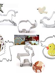 выпечке Mold Мультфильм образный Животный принт Для торта Для Cookie Для Pie Нержавеющая сталь Сделай-сам Высокое качество