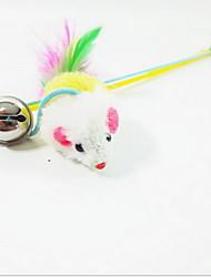 Cat Toy Pet Toys Teaser Mouse Multicolor Plush