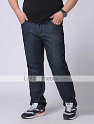 Hommes Aux femmes Jeans simple Coton / Polyester / Spandex Non Elastique
