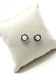 Stud Earrings Jewelry Daily Casual Pearl 1 pair