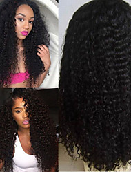 Stock! Heavy Density Same Celebrity Style Afro Kinky Curl Glueless Lace Front Wig 3 Days Delivery Time!