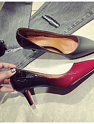 Damen-High Heels-Outddor-KunstlederAndere-Rot Grau