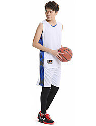 Men's Sleeveless Basketball Clothing Sets/Suits Baggy Shorts Breathable Comfortable