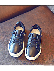 Girl's Sneakers Comfort PU Casual Black