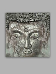 100/% Hand-Painted Abstract /  Buddha One Panel Canvas Oil Painting For Home Decoration