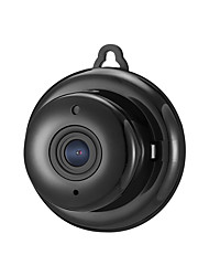 SP03 1.3MP HD 960P Mini Wifi IP Camera Night Vision 2-Way Audio 2.8mm Wide-Angle Lens and Micro SD Card Slot