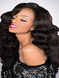 couleur naturelle 7a noir brazilian vierge cheveux humains glueless perruque complète avec des cheveux de bébé Vente en gros à bas prix en