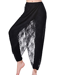 Yoga Pants Bottoms Comfortable High High Elasticity Sports Wear White Black Women's MOON® Yoga
