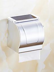 Toilet Paper Holder / Brushed Aluminum /Contemporary