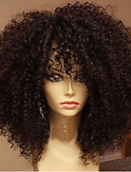 Elegant Cheap Brazilian Virgin Human Hair Product Glueless Lace Front Wig With Baby Hair For Black Woman Fashion Style