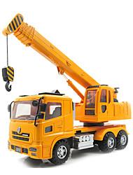 Строительство Транспорт Отойдите назад Транспорт 1:24 Металл Пластик Белый
