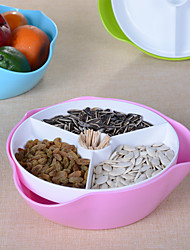 1PC Dividing Candy Fruit Plate