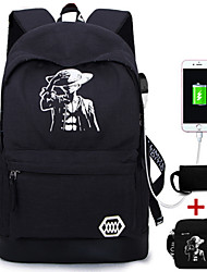 Sports Casual Outdoor Bag Sets Unisex Oxford Cloth Black