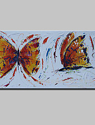 Hand Painted Animal Butterfly Oil Painting On Canvas Modern Abstract Wall Art Pictures For Home Decoration Ready To Hang